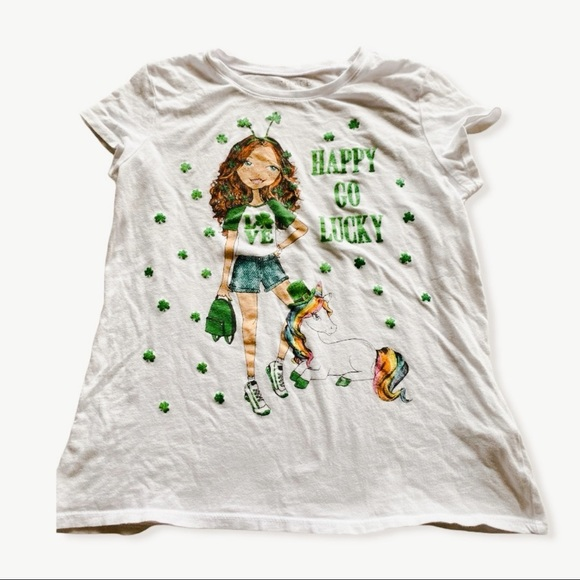 The Children's Place Happy Go Lucky Girl TShirt